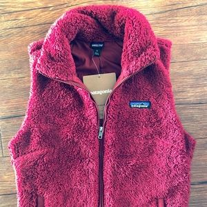 Brand New Patagonia Fleece Los Gatos Vest Red
